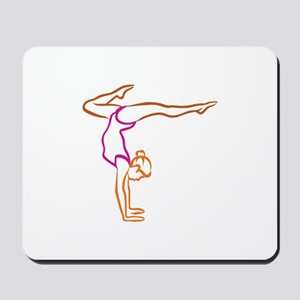 Female Gymnast Mousepad