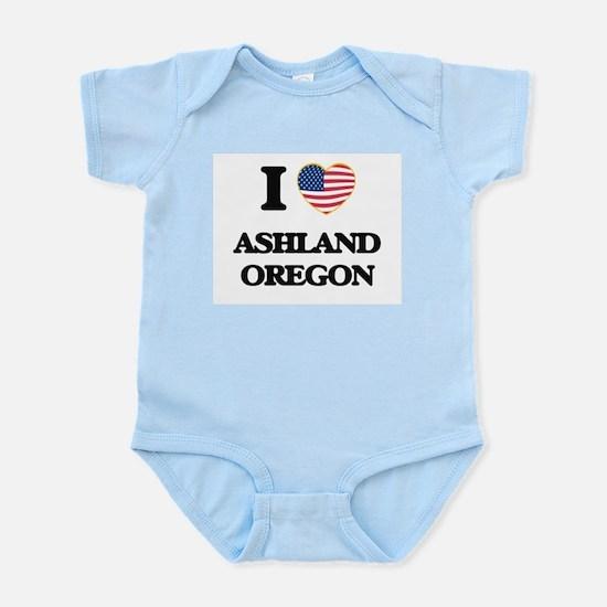 I love Ashland Oregon Body Suit