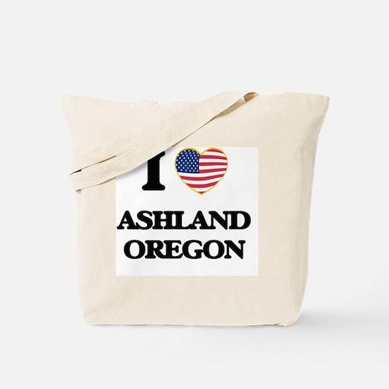 I love Ashland Oregon Tote Bag