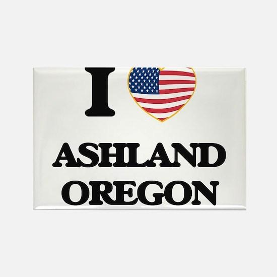 I love Ashland Oregon Magnets