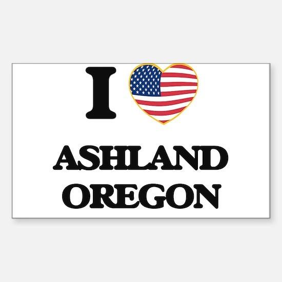 I love Ashland Oregon Decal