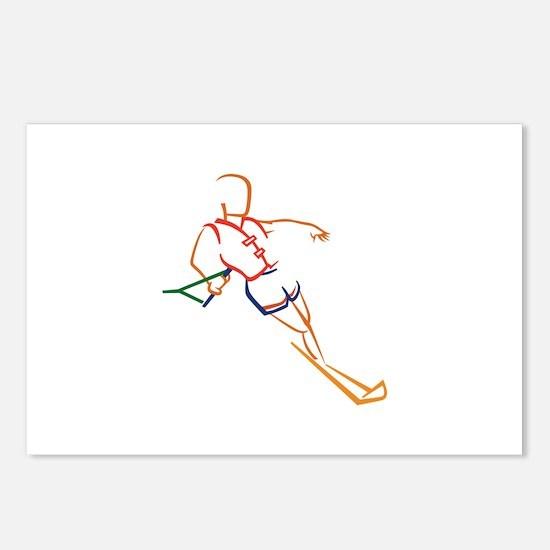 Water Skiing Postcards (Package of 8)
