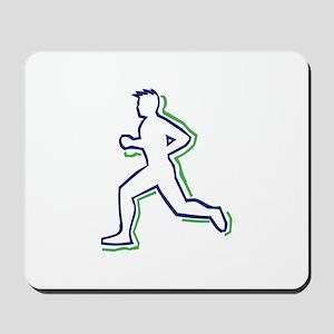 Runner Outline Mousepad