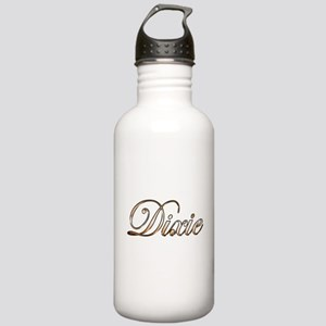 Gold Dixie Stainless Water Bottle 1.0L