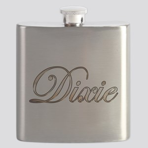 Gold Dixie Flask