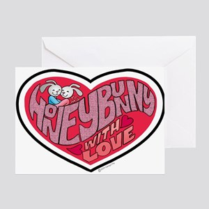 Honey Bunny Blank Greeting Card