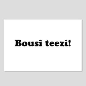 Bousi Teezi Postcards (Package of 8)