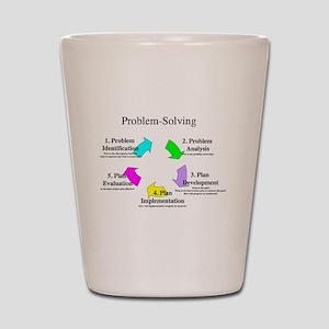 Problem Solving Model Shot Glass