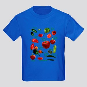 Chili Peppers Kids Dark T-Shirt