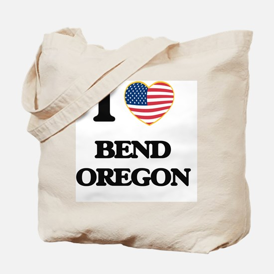 I love Bend Oregon Tote Bag