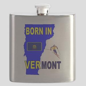 VERMONT BORN Flask