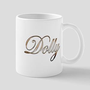 Gold Dolly Mugs