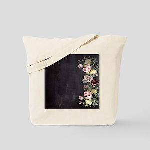 shabby chic flowers Tote Bag