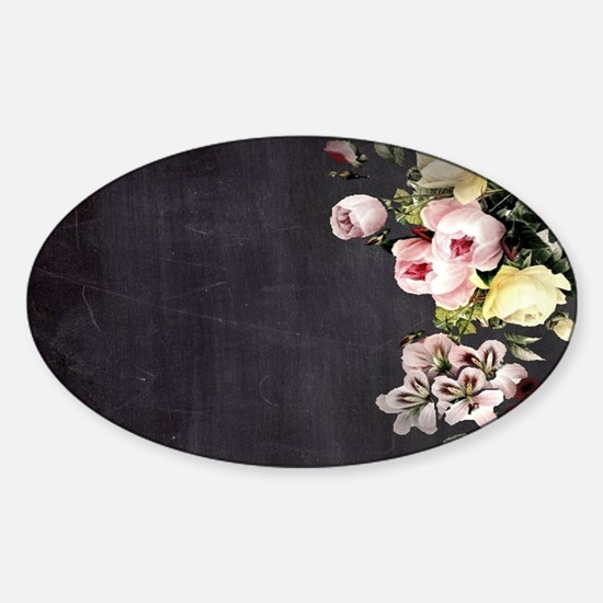 shabby chic flower Decal