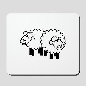 Two Sheep Mousepad