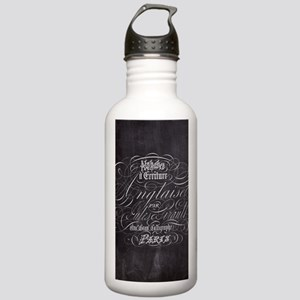 vintage french scripts Stainless Water Bottle 1.0L