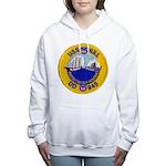 USS HULL Women's Hooded Sweatshirt