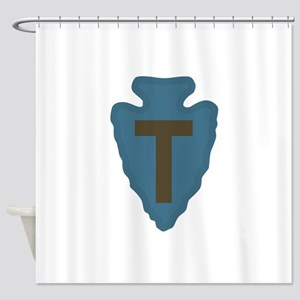 36th Infantry Div Shower Curtain