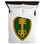 300th Military Police Queen Duvet