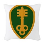 300th Military Police Woven Throw Pillow