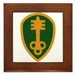 300th Military Police Framed Tile