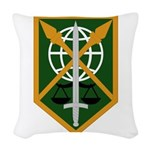 200th Military Police Woven Throw Pillow