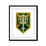 200th Military Police Framed Panel Print