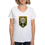 200th Military Police Women's V-Neck T-Shirt