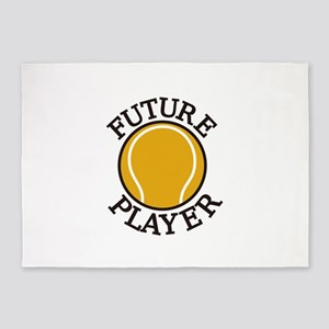Future Player 5'x7'Area Rug