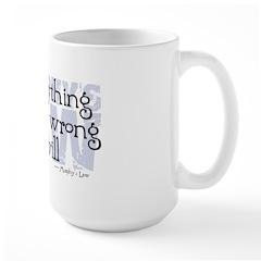 Murphy's Law V-II Large Mug
