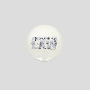 Murphy's Law V-II Mini Button