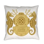 Diving Officer Everyday Pillow