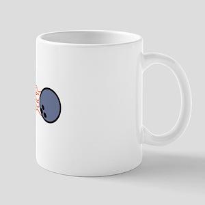 Flaming Bowling Wrap Mugs