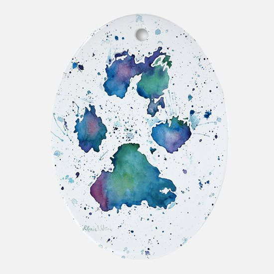 Soul Print Ornament (Oval)