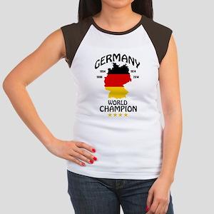 germany world champion Junior's Cap Sleeve T-Shirt