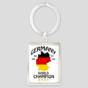 germany world champion Portrait Keychain