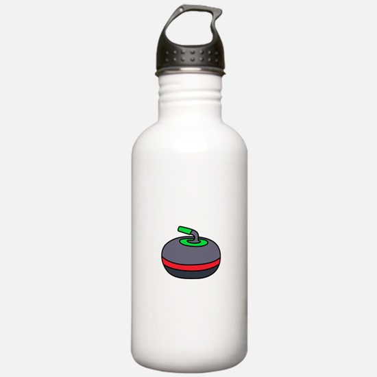 Curling Rock Water Bottle