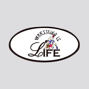 Wrestling is Life Patch