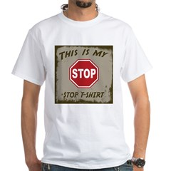 My Stop T-Shirt White T-Shirt