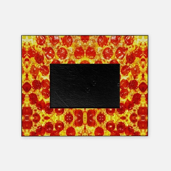 Cute Pizza Picture Frame