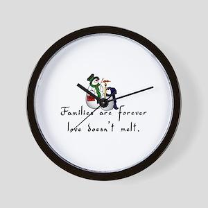 Families Wall Clock