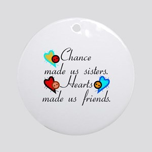 Chance Sisters Ornament (Round)