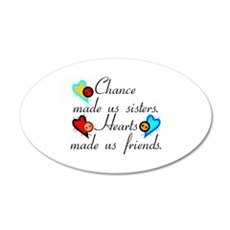 Chance Sisters Wall Decal