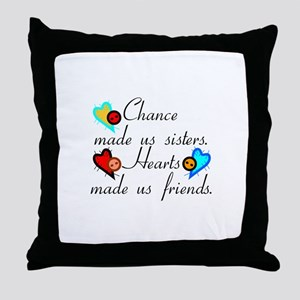 Chance Sisters Throw Pillow
