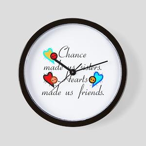 Chance Sisters Wall Clock