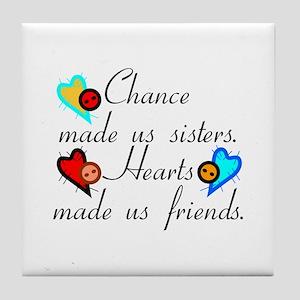 Chance Sisters Tile Coaster