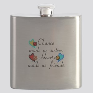 Chance Sisters Flask