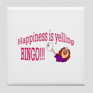 Happiness Bingo Tile Coaster