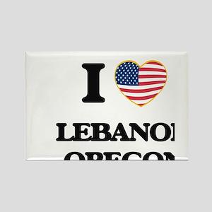 I love Lebanon Oregon Magnets