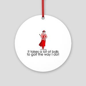 A Lot of Balls Ornament (Round)